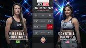 UFC华盛顿站:玛丽娜-罗德里格兹VS辛西娅-卡尔维洛