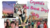 Crystal's Fall Break Day1 Vlog