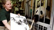 【大世界351】世界第一只会画画的大熊猫,一幅画3918元,外国人都争着买