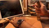 [TentMade]改造爷爷的老梅花手表--朴实无华,且枯燥的手工皮质表带制作