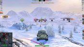 WOTB,6.7   ISU-152战斗录像,继续蹲坑大作战