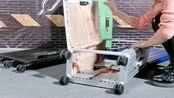 可折叠的拉杆箱,不用的时候拆开放一边,完全不占地方!