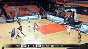 2019 篮球亚冠9月24日,韩国蔚山现代90-92不敌黎巴嫩阿尔利雅得,利雅得队维尔·阿拉基全场集锦
