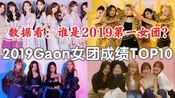 数据看:2019的女团TOP是?2019GAON女团成绩TOP10汇总!