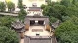 浙江嘉兴南湖风景区著名的中共一大红船,壕股塔美景如画