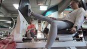 Fitness Vlog #6|臀腿日 臀推&Leg Press(腿推?)&髋关节内收机|练着练着扭了一起来,穿着legging还有蚊子光顾