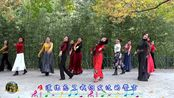 紫竹院广场舞《站着等你三千年》,深秋跳这支舞更有意境
