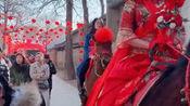 山西省有个运城,运城有个县城叫临猗,这里结婚就是这样的热闹吧!