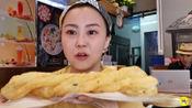8元一根的北京炸油条,40厘米长,油条豆浆豆腐脑,20元吃到撑!