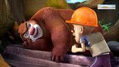 熊出没:强哥的头奖彩票被风吹进希望小学,这下熊有得忙了