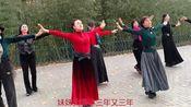 北京紫竹院《站着等你三千年20191115》广场舞,第二梯队排在C位