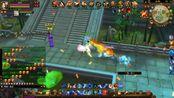 天龙八部:帅气英招vs雁南boss,深水怪兽打10次仅命中3-蓝光1080p