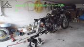 Kawasaki BJ250改装cafe racer风格 #7