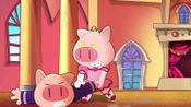 小猪班纳:美美把舞蹈变成斗殴,将班纳一顿打,班纳太惨了