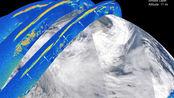 美国国家航空航天局(NASA) 卫星动画显示澳大利亚大火,蔓延至远东地区