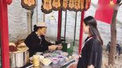 陕西必吃的特色小吃,卖烂西安回民街,5元一份,好吃不贵