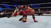 WWE:莱贝克太惨了,混战中惨吃断头脚,卢瑟夫一大脚淘汰