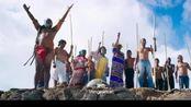 分手大师:部落的人把邓超扔进大海里,这扔的方式太搞笑!