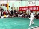 云南省曲靖市麒麟区武术协会:袁莉英 2011参赛自选刀