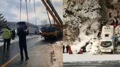 吉林通化载37人大客车坠落江边致6人死亡 受困人员已全部送医