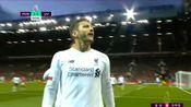 曼联1-1利物浦:拉拉纳右脚推射空门得分!利物浦扳平比分
