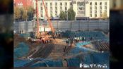 河南省郑州市金水区一在建工地基坑发生坍塌!事故致3人不幸遇难
