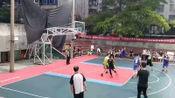 """舞钢市""""乐达杯""""第二届4V4篮球对抗赛 7.27日 西半场"""