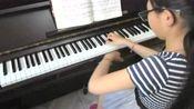 自弹演奏钢琴曲中国乐曲《山娃》 (张朝曲)
