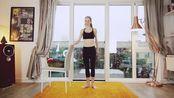 Lazy Dancer Tips   把杆虐腹+全身站姿运动 芭蕾风格   无器械 油管搬运