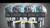 听力练耳【英文字幕精听】#Dr. Bruce Lipton# How to Program Your Subconscious Mind, Part2