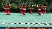 周思萍广场舞-印度桑巴(背面)