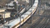 【中国铁路】春运进行中 临客 K5852 车底25DT九江号 南昌-玉山 列车南昌站南下出站