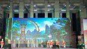 赣州市文明单位广场文化汇演:安淇参加的舞蹈表演:咿呀咿呀小嗲嗲