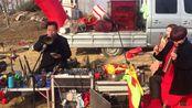 河南信阳市农村结婚,唢呐班吹奏豫剧《打金枝》,这也太好听了!