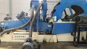 轮式水洗砂设备多少钱 泥沙筛洗一体机处理现场