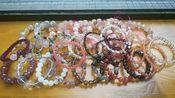 【退坑出发簪材料】最后一波水晶+樱花玛瑙手串了,不来看看吗?还有一些樱花玛瑙小件