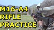 M16A4 Rifle and M240B Medium Machine Guns at Camp Hansen