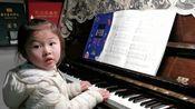 【萌萌弹钢琴】20200309约翰汤普森教程1弹唱《交通警》