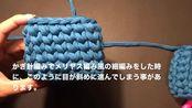 【毛线编织教程】小妙招告别小歪手,织物更立体