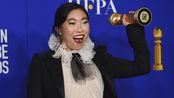 奥卡菲娜荣获金球奖,成为金球奖史上首个获电影类主角的亚裔演员