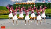 小慧广场舞《让中国更美丽》欢快优美大气的三步舞