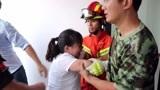 深圳女子因贷款压力大要跳楼 龙岗消防将其救回
