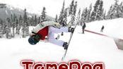 终于加入Upside Down Club!前空翻!Feat. 中国单板选手张嘉豪&滑雪大学 VLOG 405