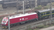 【2020.01.01】[襄渝线]HXD1D+25B+25G[K529]杭州-成都东 达州站刚出站