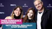 "Patty Jenkins, India Eisley and Sam Sheridan Talk ""I Am The Night"" At Sundance"