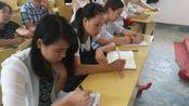 八团学校王新平校长对新教师进行入职前培训