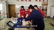 实训室来了新设备,心肺复苏实操演练