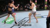 2.UFC 243不分量级Ji Yeon Kim第二局TKO澳大利亚袋鼠 Kassem
