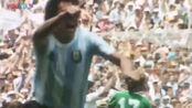 梦回1986!阿根廷险胜德国战车,马拉多纳一战封神
