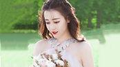 迪丽热巴新剧《爱情定制》,热巴一身白婚纱太惊艳,黄景瑜看痴了
